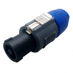 PL-255BL Plug Speakon 4...