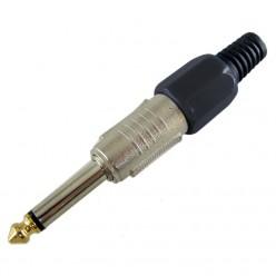 PL-165BK 6.3mm Mono Plug