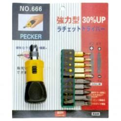 TO-NO666 Screwdriver Set 10...