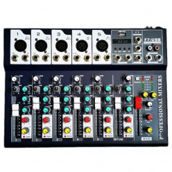 AS-MX7 7 Channel Mixer