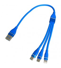 CA-830BL 3 In 1 2.4A Cable
