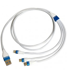 CA-831WH 3 In 1 2.4A Cable