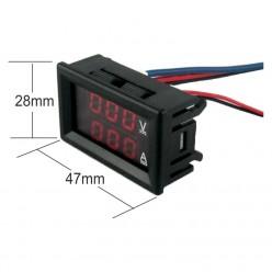 T5D100V10A Volti-Ammeter...
