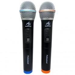 TWM-332 2 Micrófonos UHF...